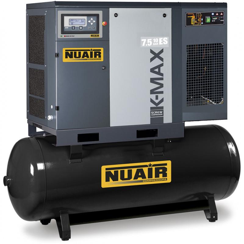 COMPRESSEUR A VIS ENTRAINEMENT DIRECT K-MAX 10 CV NUAIR