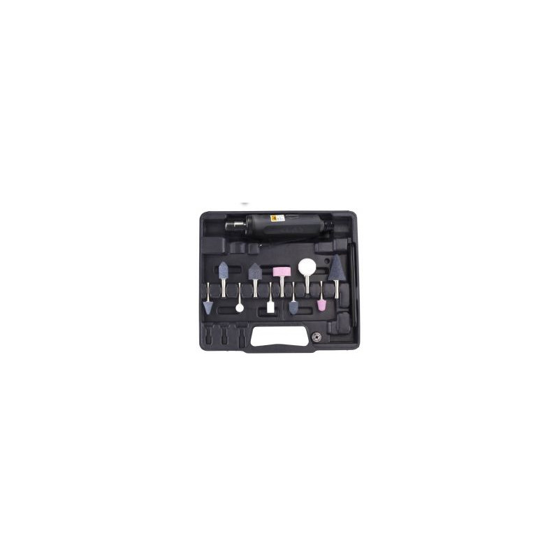 COFFRET MINI MEULEUSE PNEUMATICIEN 12 PIECES CLAS
