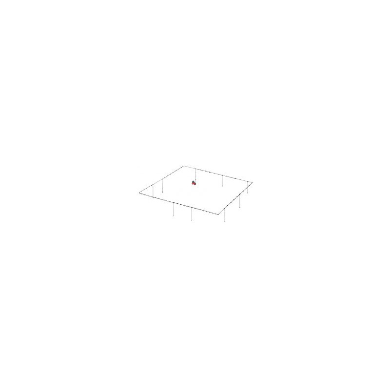 KIT RESEAU D'AIR ALU - DIAMETRE 32 MM- LONGUEUR 60 M - 8 DESCENTES - CLAS