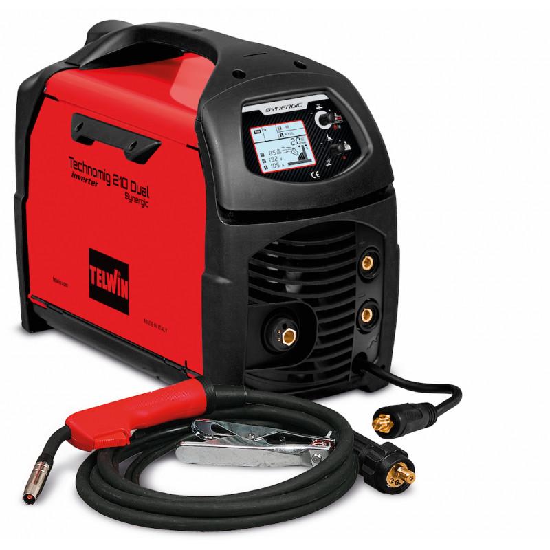 POSTE DE SOUDAGE TECHNOMIG 210 DUAL SYNERGIC 230 V TELWIN