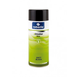 SPRAY NOIR MAT 400ML ROBERLO